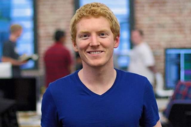 Патрик Коллисон, предприниматель, основатель компании Stripe, 30 лет. Молодой компьютерный гений, который заработал свой первый миллион в 19 лет, продав свою первую компанию по разработке приложений для покупок на интернет-аукционе eBay.