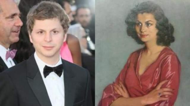 Майкл Сера и женщина с испанской картины