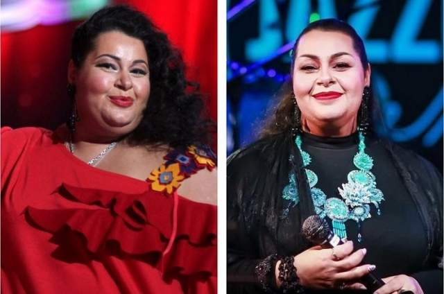 """Марьям Мерабова (60 кг). Участница телепроекта """"Три аккорда"""" и шоу """"Голос"""" похудела на 56 кг, так как у нее появились проблемы со здоровьем."""