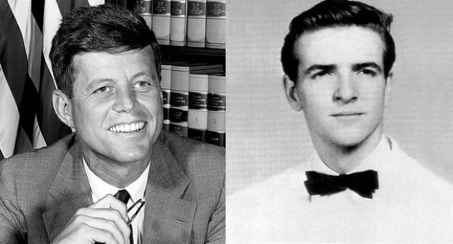Джон Кеннеди. В молодости будущий американский президент пережил страстный роман с Элизабет Ланет, которая заявила, что в результате родила сына. Сейчас самой Элизабет 87 лет, а ее сыну Антонио Болеру 63 года.