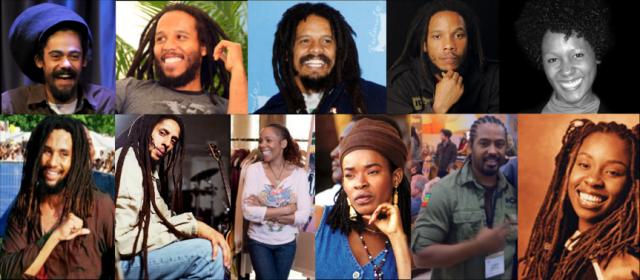Боб Марли. У звезды регги 11 признанных детей от семи разных матерей, при этом почти все они пошли по стопам отца и стали всемирно известными музыкантами.