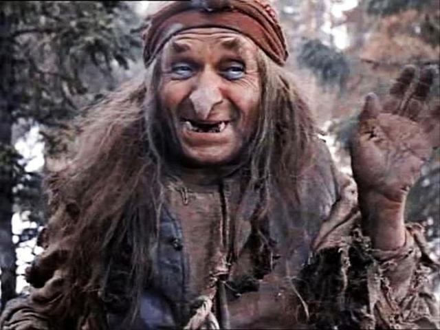 Георгий Милляр , 1903-1993. Этого артиста мы привыкли видеть не только в возрасте, но и в фантастических образах, ведь какую только нечисть не играл актер.