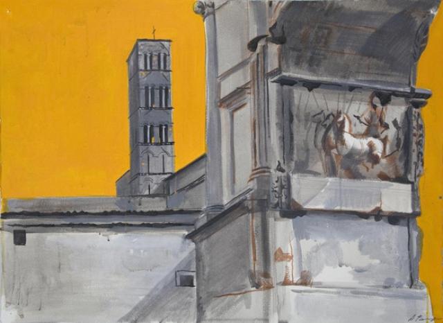 Вертинская приняла участие в нескольких выставках в Швейцарии, Чехии, Голландии, Италии, Франции.