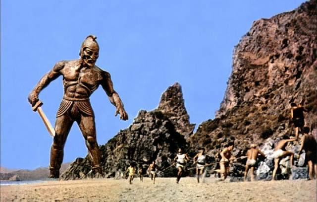 """В частности - армию скелетов, которую, если оценить фрагмент из ленты, было бы несытно показать в кино и в эпоху первого """"Терминатора""""."""