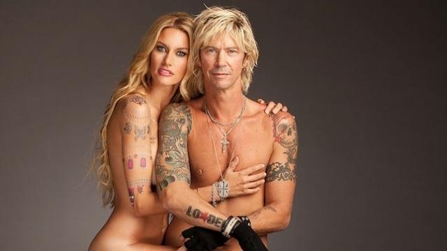 Сьюзан Холмс. Модель - жена Даффа Маккэгана из Velvet Revolver и Guns N' Roses.
