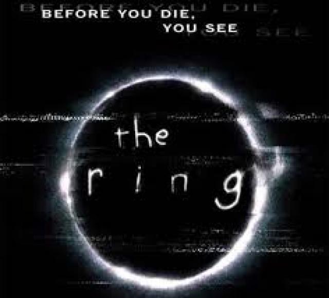 "Фильм ужасов ""The Ring""/""Кольцо"" у нас назвали ""Звонок""."