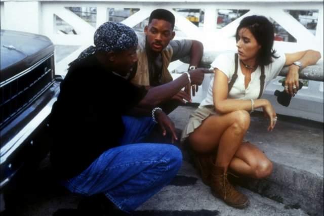 """Но звездой стала позже, в 1995 году. Тогда на экраны вышел фильм """"Плохие парни"""" с Уиллом Смитом и Мартином Лоуренсом в главных ролях."""