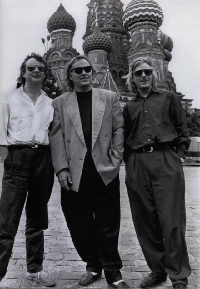 Pink Floyd , 1987. Первый концерт в Москве.