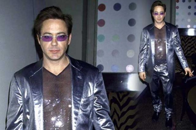 В 90-х Роберт Дауни-младший был жертвой довольно странной моды.