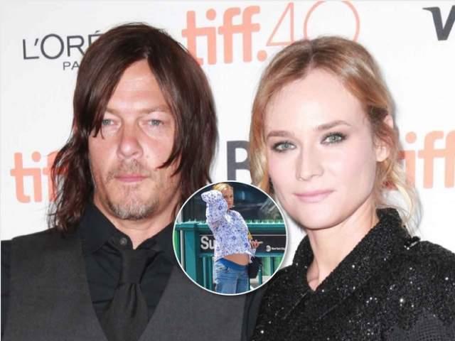 Диана Крюгер, ноябрь. 42-летняя немецкая актриса не признается, как они с мужем Норманом Ридиусом назвали дочь. Отметим, что для Крюгер это первые роды.