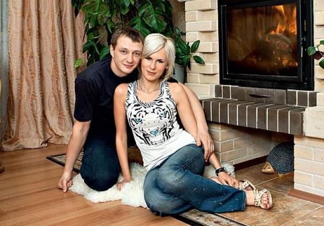 Марат Башаров. С матерью чудесной дочки Амели Елизаветой Круцко актер не живет уже много лет.