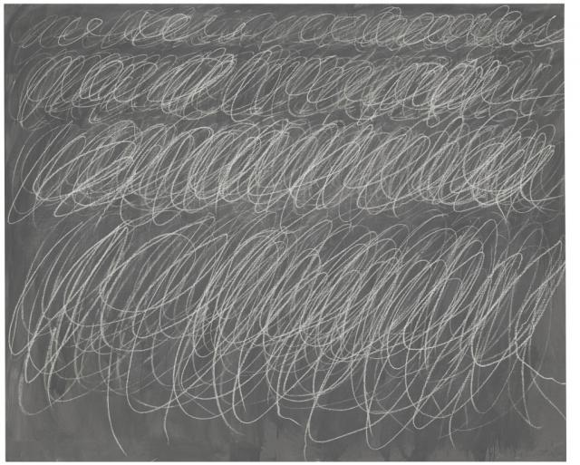 """""""Без названия (1970) Сай Твомбли – 69,6 млн. долларов"""