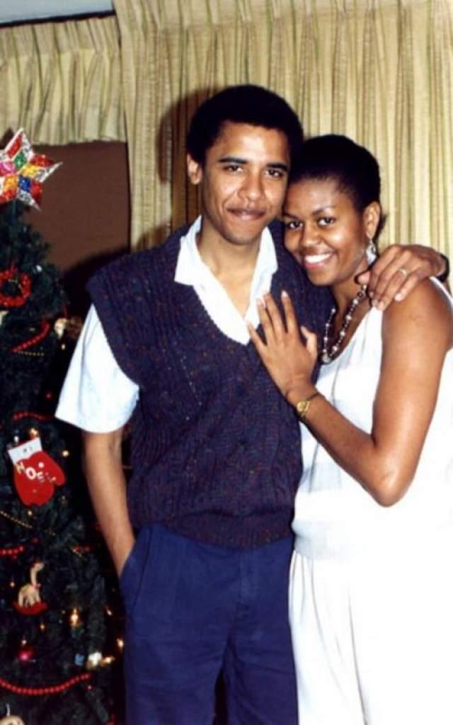 Молодая пара в начале их отношений.
