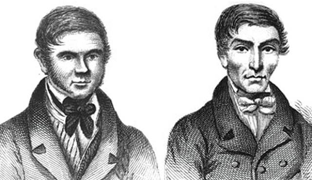 Для продажи трупа. Уильям Берк и Уильям Хэр жили в Эдинбурге в 1828 году. Когда один из квартиросъемщиков Хэра умер, не отдав ему денег, они решили продать тело мужчины доктору Роберту Ноксу для проведения лекции по анатомии с использованием реальных трупов.