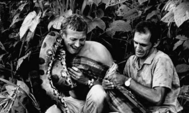 Евгений Евтушенко в 1968 году путешествовал по Амазонке.