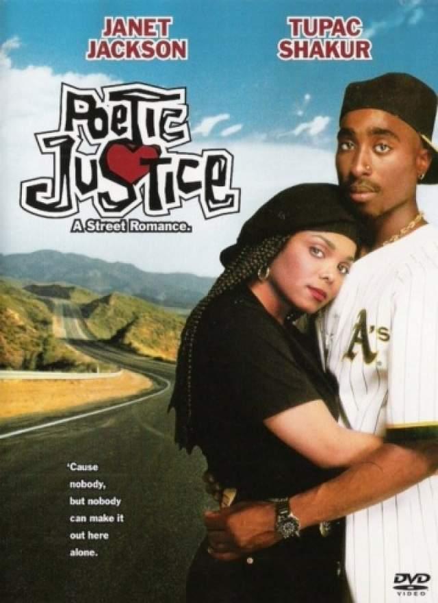"""Джанет Джексон. Младшенькая из легендарных Джексонов, также певица, автор песен, а также танцовщица и продюсер, попробовала себя в качестве актрисы в 1993 году, снявшись в """"Поэтичной Джастис"""" вместе с Тупаком."""