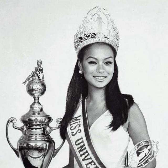 Глория Мария Диас, Филиппины. «Мисс Вселенная — 1969». 18 лет, рост 165 см.