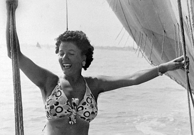 """В 1939 году Клара получила роскошную виллу """"Камилучча"""" в центре Рима и жила по-настоящему гламурной жизнью."""