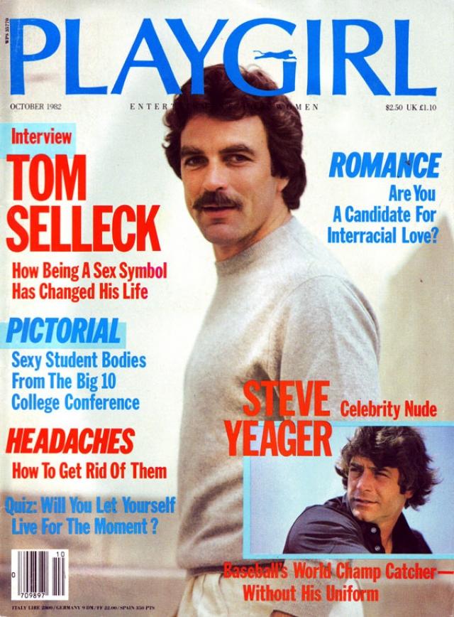 Том Селлек . Октябрь 1982.