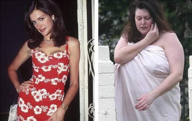 Кейт Фишер, 45 лет. Бывшая девушка бывшего возлюбленного Мэрайи Кэри, Джеймса Паркера, в прошлом была очень востребована как модель.