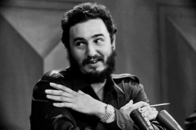 Автором глупости был агент ЦРУ Томас Пэрроу , пытавшийся использовать религиозные чувства кубинцев. Фиделя он назвал сатаной.