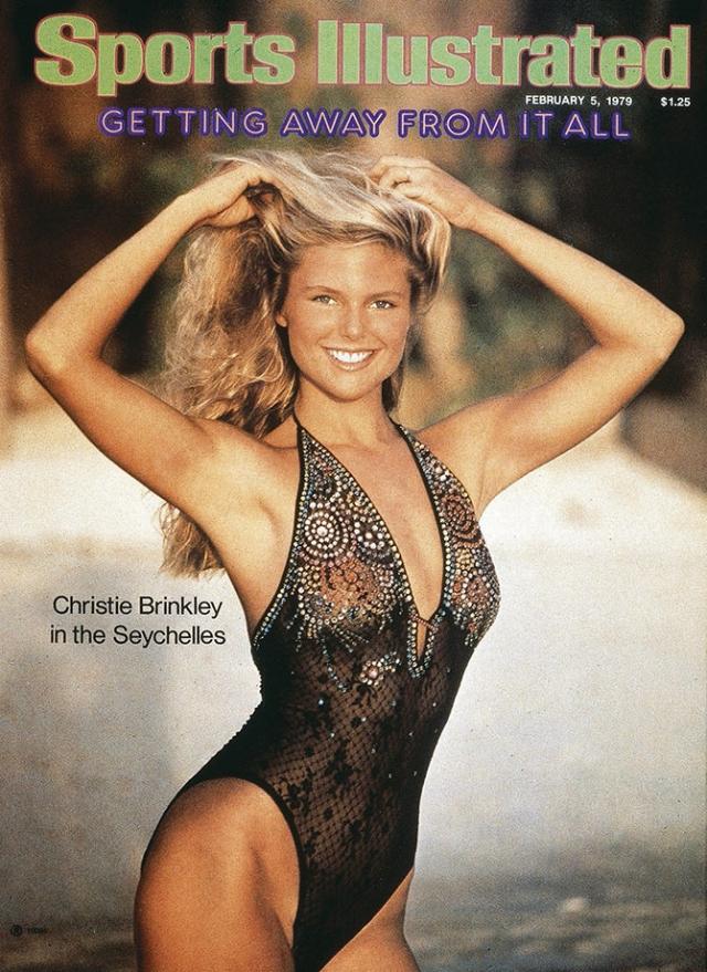 Кристи Бринкли , 1979.