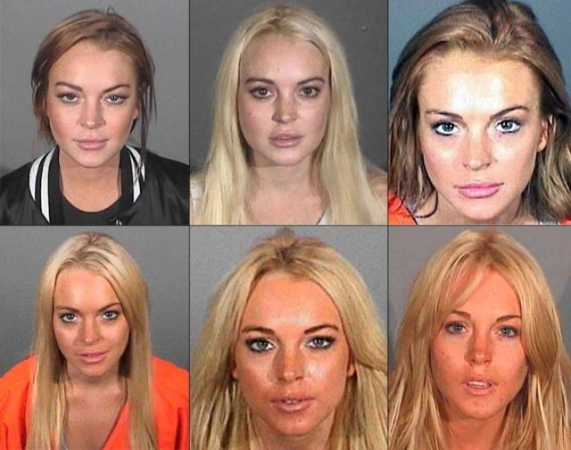 Линдси Лохан. Американская актриса неоднократно попадала в тюрьму за употребление и хранение наркотиков.