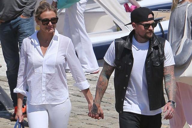 Кэмерон Диаз и Бэнджи Мэдден поженились в январе после восьми месяцев романтических отношений.