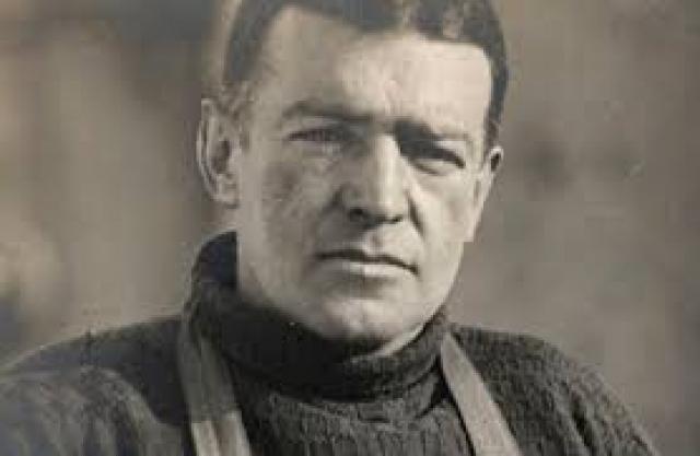 Сэр Эрнест Шаклетон вел свою группу на покорение Антарктики в 1914 году.