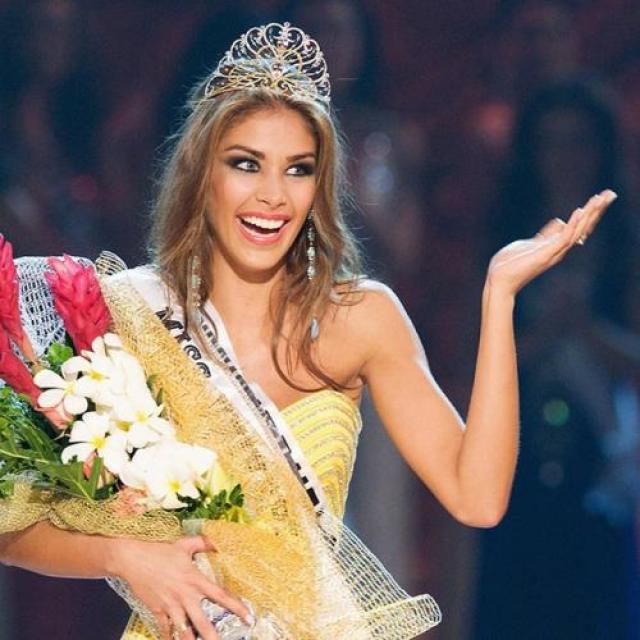 Дайана Мендоса, Венесуэла. «Мисс Вселенная — 2008». 22 года, рост 178 см, параметры фигуры 88−60−90.