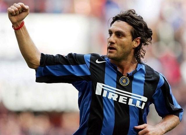 Кристиан Вьери. Итальянский нападающий, выступавший за ряд клубов первого дивизиона.