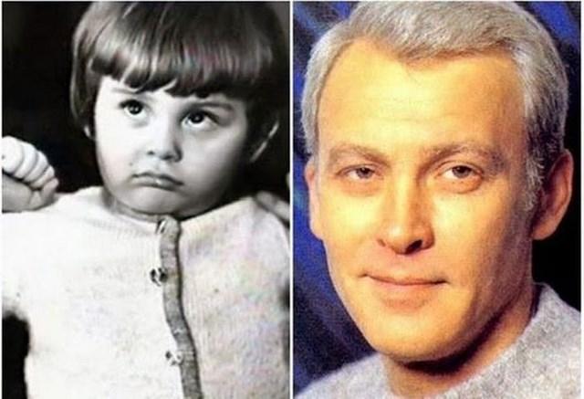 А это супруг Светличной, Владимир Ивашов , в детские годы.