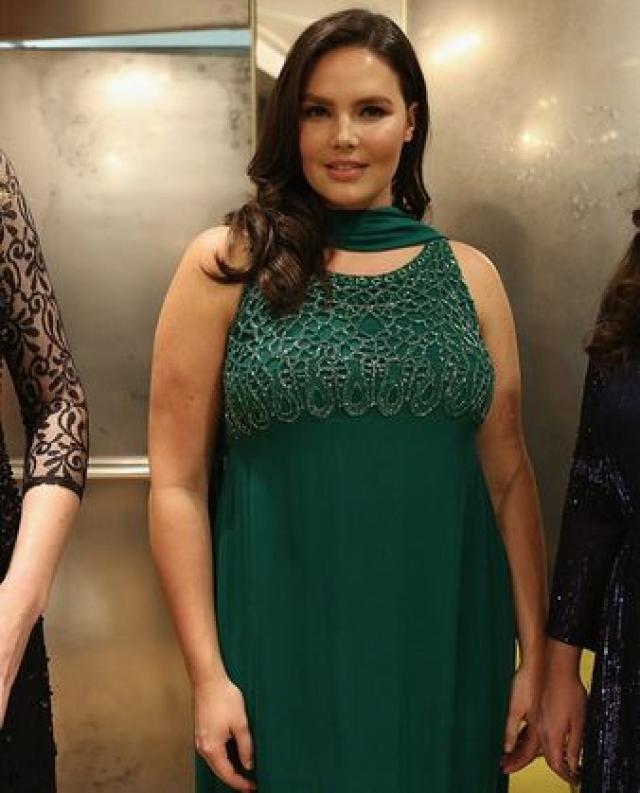 """Кэндис Хаффин. 29-летняя американка начинала как модель """"plus size"""" (размер от 48-го и выше), снимаясь для каталогов одежды для полных женщин."""