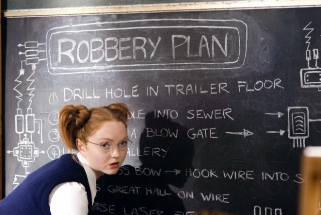 """Лили Коул. В 2007 году рыжеволосая британская модель снялась в эпизодической роли в отличной национальной комедии """"Одноклассницы""""."""