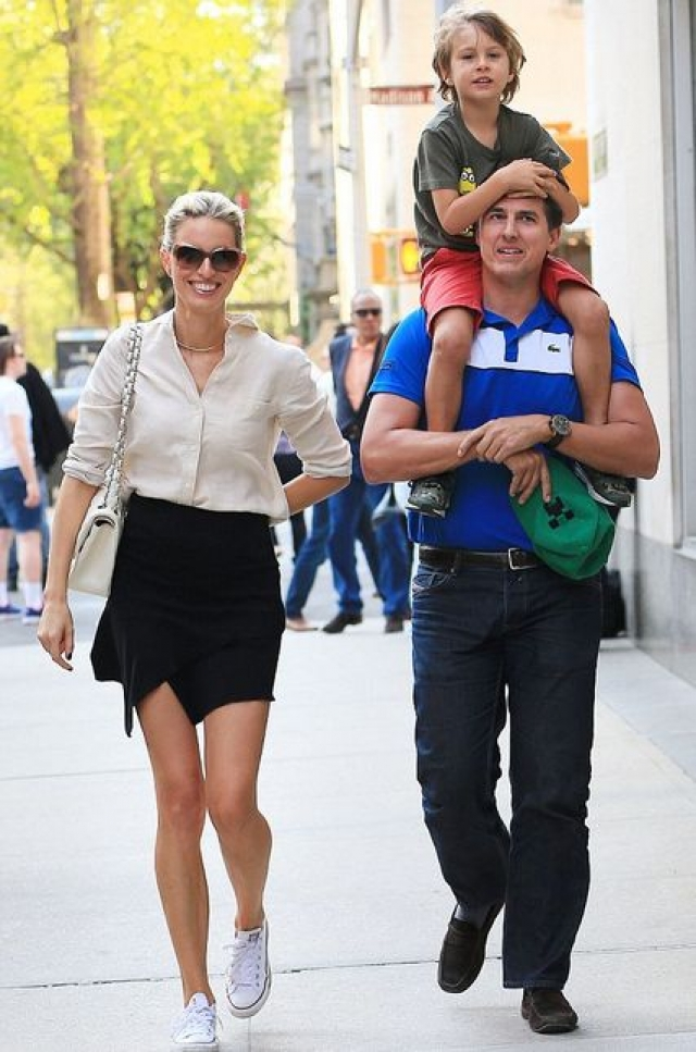 Каролина Куркова. У красавицы растет сын Тобин Джек, который родился 29 октября 2009 года.