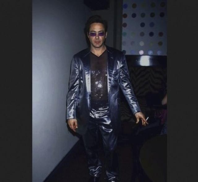 Роберт Дауни-младший и его костюм.