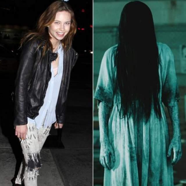 Едва ли можно себе представить, что эта милая девушка (Дэйви Чейз) сыграла роль мертвой девочки Самары в фильме Звонок. После этого ужастики многие люди боялись подходить к телефону.