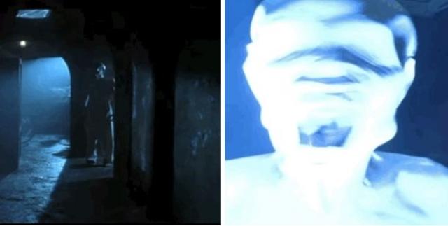 """""""Дом ночных призраков"""". Внезапное появление призрака в подвале. Брр…"""