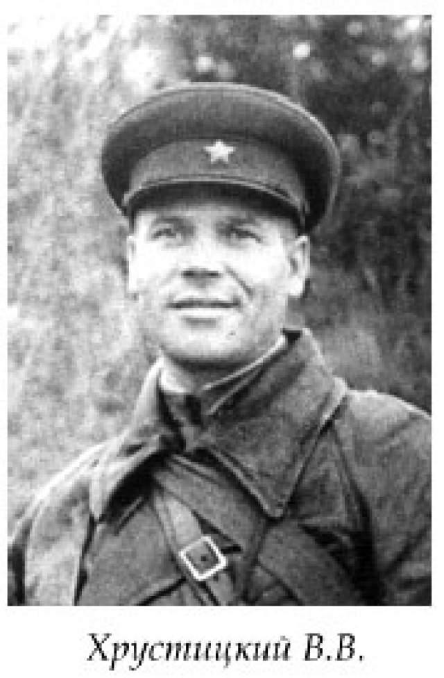 Владислав Хрустицкий, (1902-1944). Командир 30-й отдельной гвардейской танковой бригады Ленинградского фронта.