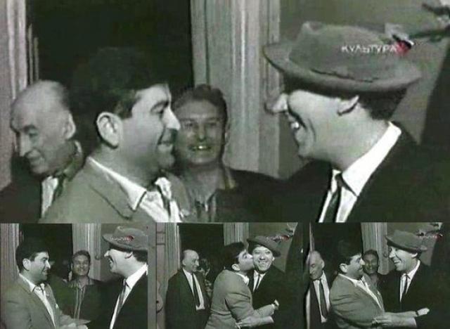 Среди близких друзей Юрия Никулина были Олег Табаков, Леонид Гайдай и самая крупная в СССР иностранная звезда, актер и режиссер Радж Капур .