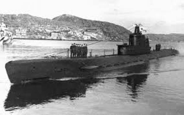 Его засекла советская подводная лодка С-13.
