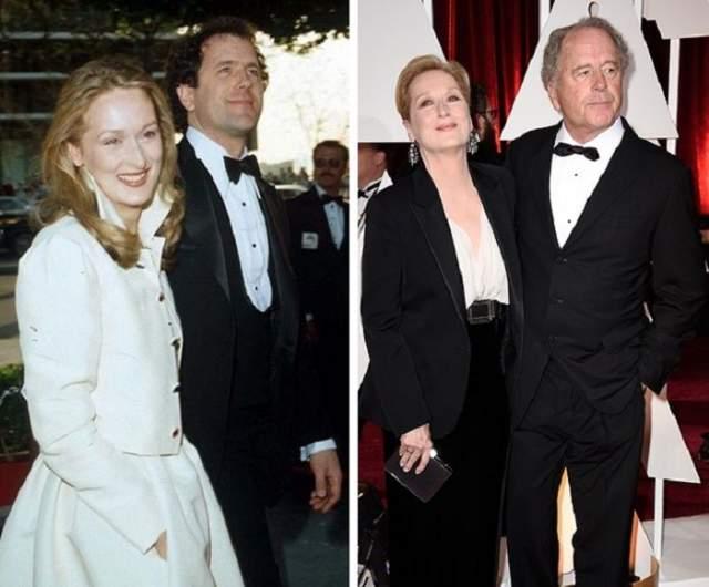 Мэрил Стрип и Дон Гаммер, 40 лет в браке.