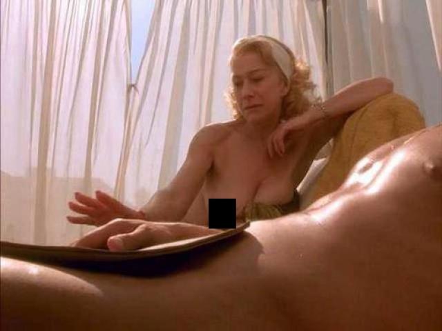 В самой кинокартине Миррен также снялась в постельных сценах.