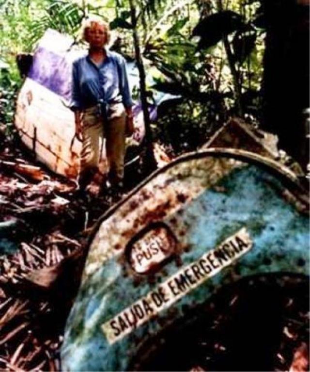 """Через девять дней ее нашли местные лесорубы. По мотивам истории Джулианы Кепке был снят фильм """"Чудеса еще случаются""""."""