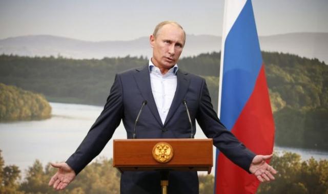"""Владимир Путин : """"Если мозги утекают, значит, они есть. Уже хорошо. Значит, они высокого качества, иначе они никому не были бы нужны и не утекали""""."""