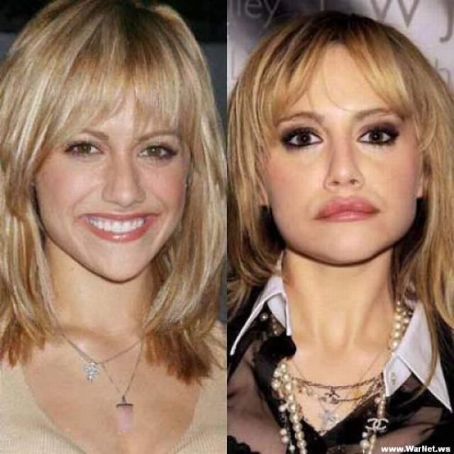 Бриттани Мерфи. Если бы не пневмония, сразившая актрису в ее 32 года, сейчас ей был бы 41 год.