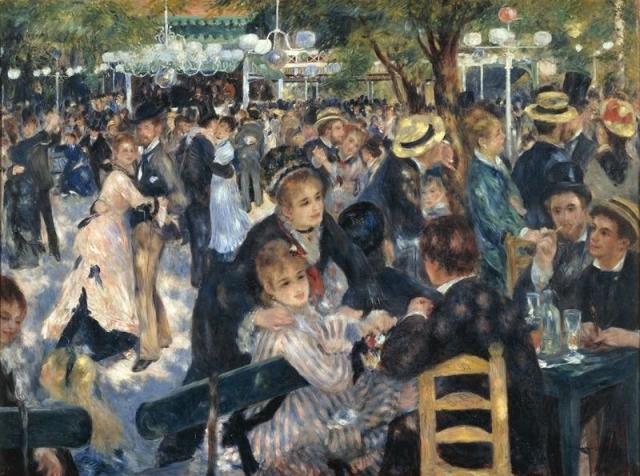 """$78 100 000. """"Бал в Мулен де ла Галетт"""" , Пьер-Огюст Ренуар, написана в 1876 году."""