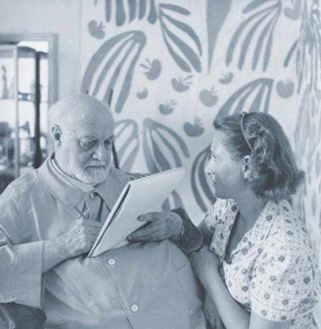 Анри Матисс и Лидия Делекторская. Уже заслуживший статус великого художник и секретарша-эмигрантка, круглая сирота, познакомились в 1930 году.