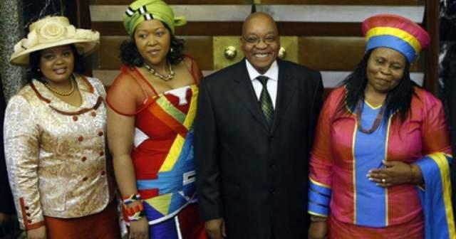 Джейкоб Зума. Президент ЮАР является многоженцем, поэтому, по последней информации, у него 20 официальных детей.