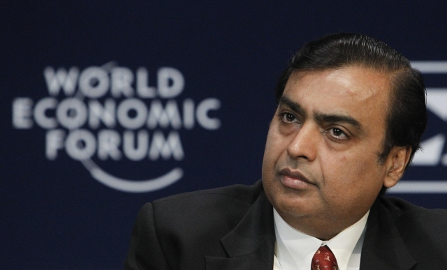 """Мукеш Амбани - индийский бизнесмен и самый богатый человек в Индии, по версии журнала """"Форбс"""" 2008 года."""
